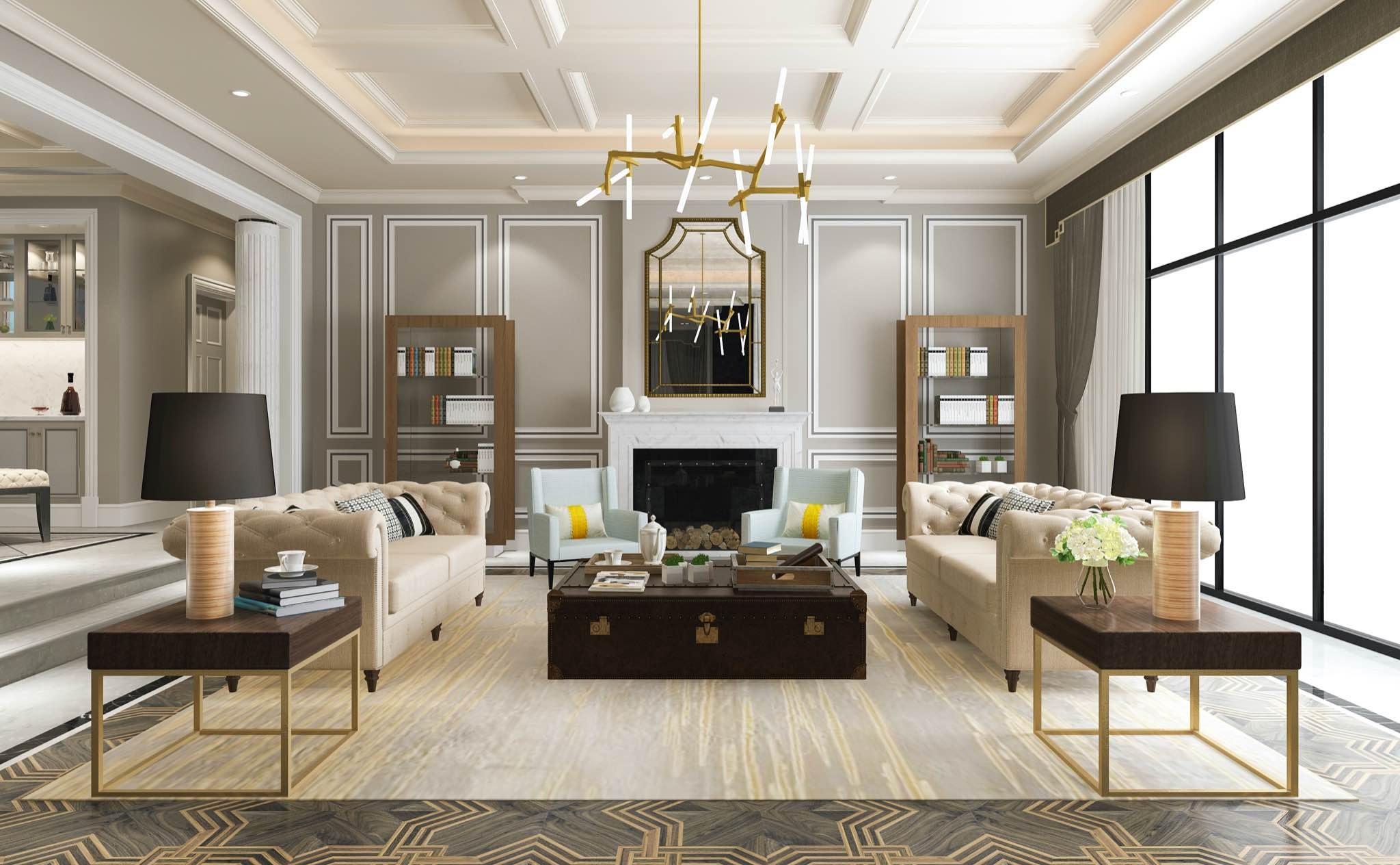 Lissa Cline Header Image of Living Room