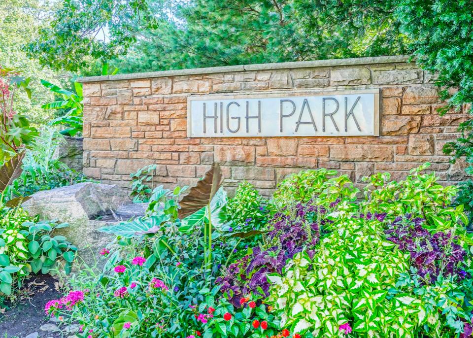 High Park Sign - West Toronto Neighbourhoods