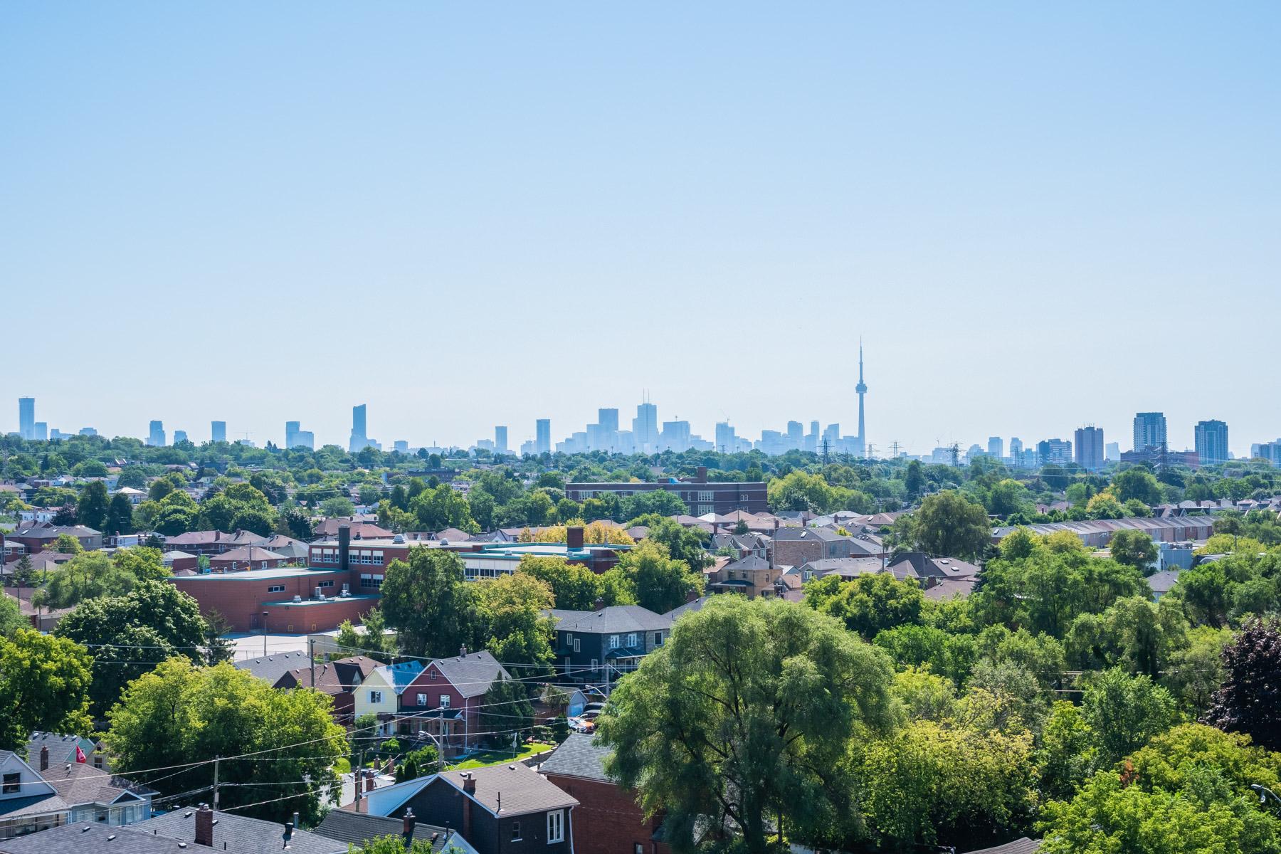 View of Etobicoke Neighbourhoods